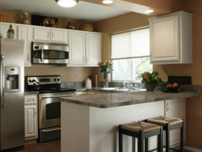 Kitchen Cabinets: Spacious Kitchen For Extreme Efficiency